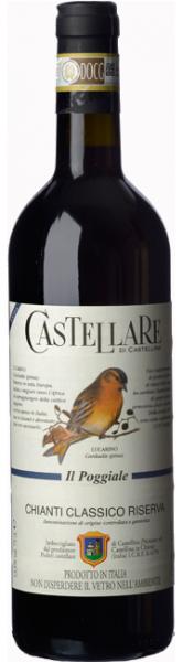 Castellare di Castellina, Chianti Classico Riserva Il Poggiale 2016, Toskana