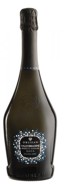 Drusian, Prosecco di Valdobbiadene D.O.C.G. Spumante Extra Dry, Magnum 1,5 L