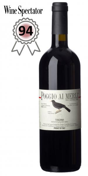 """Castellare di Castellina, """"Poggio ai Merli"""" Merlot 2015 IGT, Toskana"""