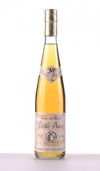 Jean-Paul Metté, Elsass, Eau-De-Vie d'Alsace, Vieille Prune (alte Pflaume), 0,7 l