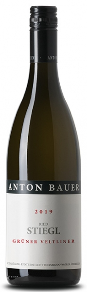 Bauer Anton, Grüner Veltliner Ried Stiegl 2019, Wagram