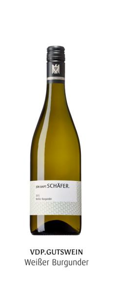 Schäfer J.B., Weißer Burgunder Flusskiesel 2019, Nahe