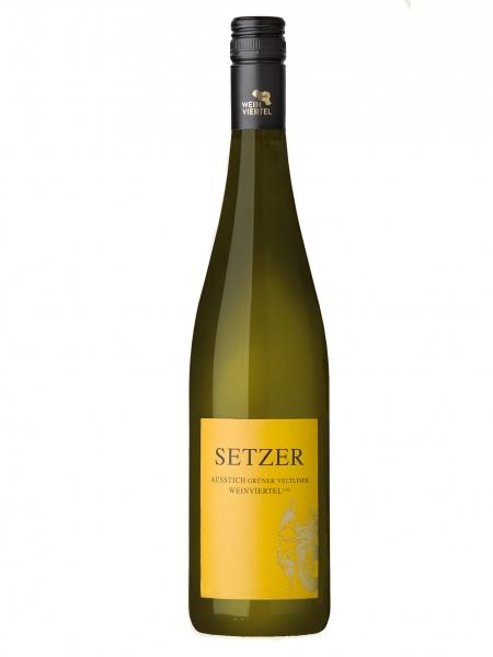 Setzer, Grüner Veltliner 2018, AUSSTICH Weinviertel DAC