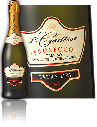 Le Contesse, Prosecco Spumante DOC Treviso Extra Dry