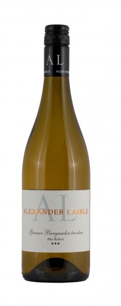 Alexander Laible, Weißer Burgunder tr. Alte Reben 2019 ***, Baden