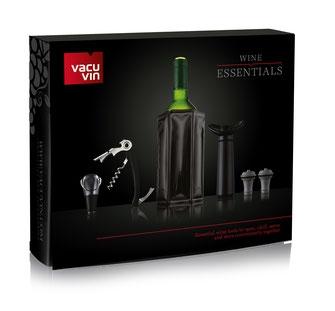Vacu Vin - Profi Basis Weinset 'schwarz'