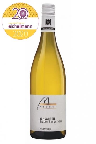 Weingut Michel, Achkarren Grauer Burgunder Ortswein 2018, Baden