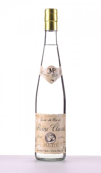 Jean-Paul Metté, Elsass, Eau-De-Vie d'Alsace, Reine Claude (Reneklode/Rundpflaume), 0,7 l