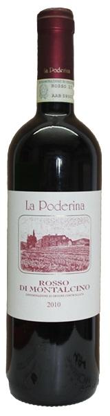 La Poderina, Rosso di Montalcino DOC 2010, Toskana