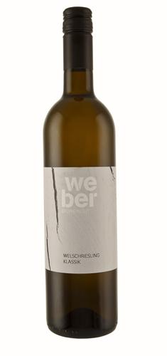 Weber, Bio-Wein, Welschriesling Klassik 2019, Weinviertel