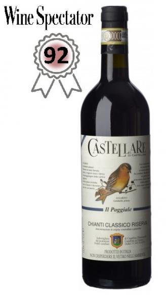 Castellare di Castellina, Chianti Classico Riserva Il Poggiale 2017, Toskana