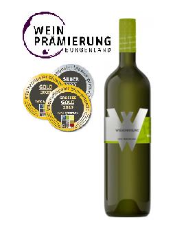 Weiss, BIO Welschriesling 2020, Neusiedlersee